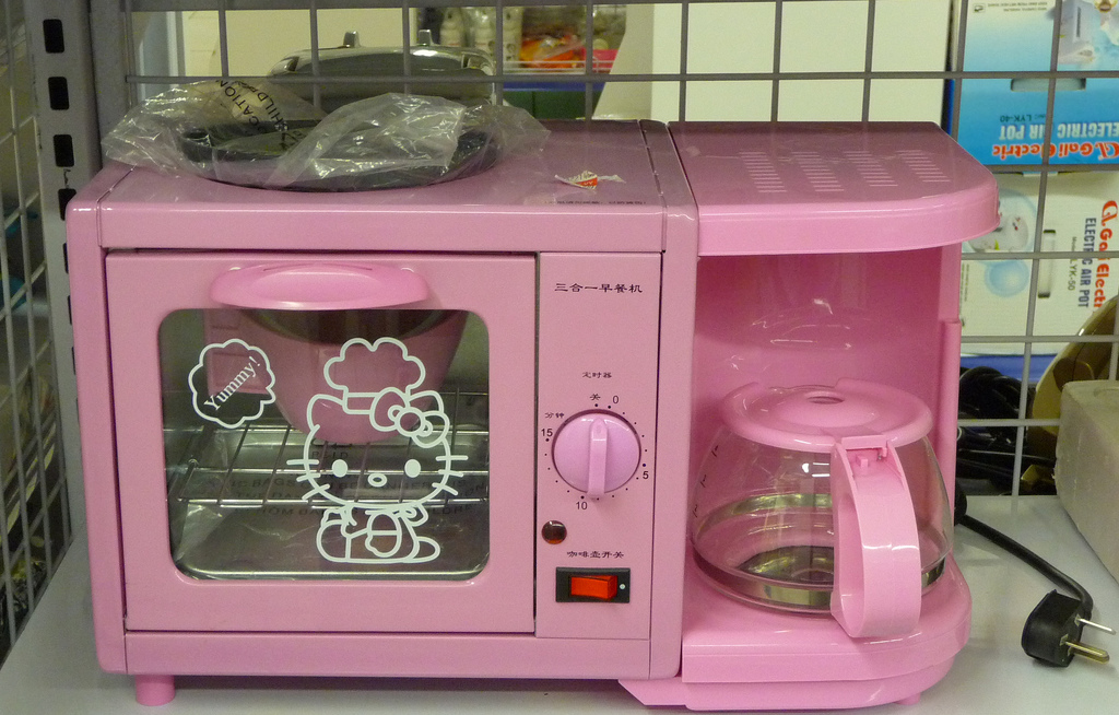O Kitty Toaster Griddle
