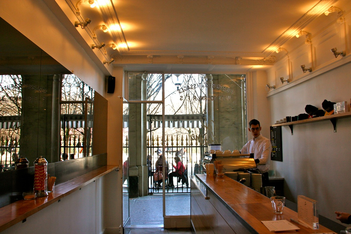 Coffee with your lifestyle brand at the maison kitsuné cafe in paris