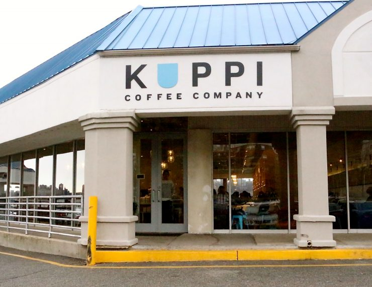 kuppi coffee company edgewater new jersey george howell dough doughtnuts om sweet home cafe sprudge
