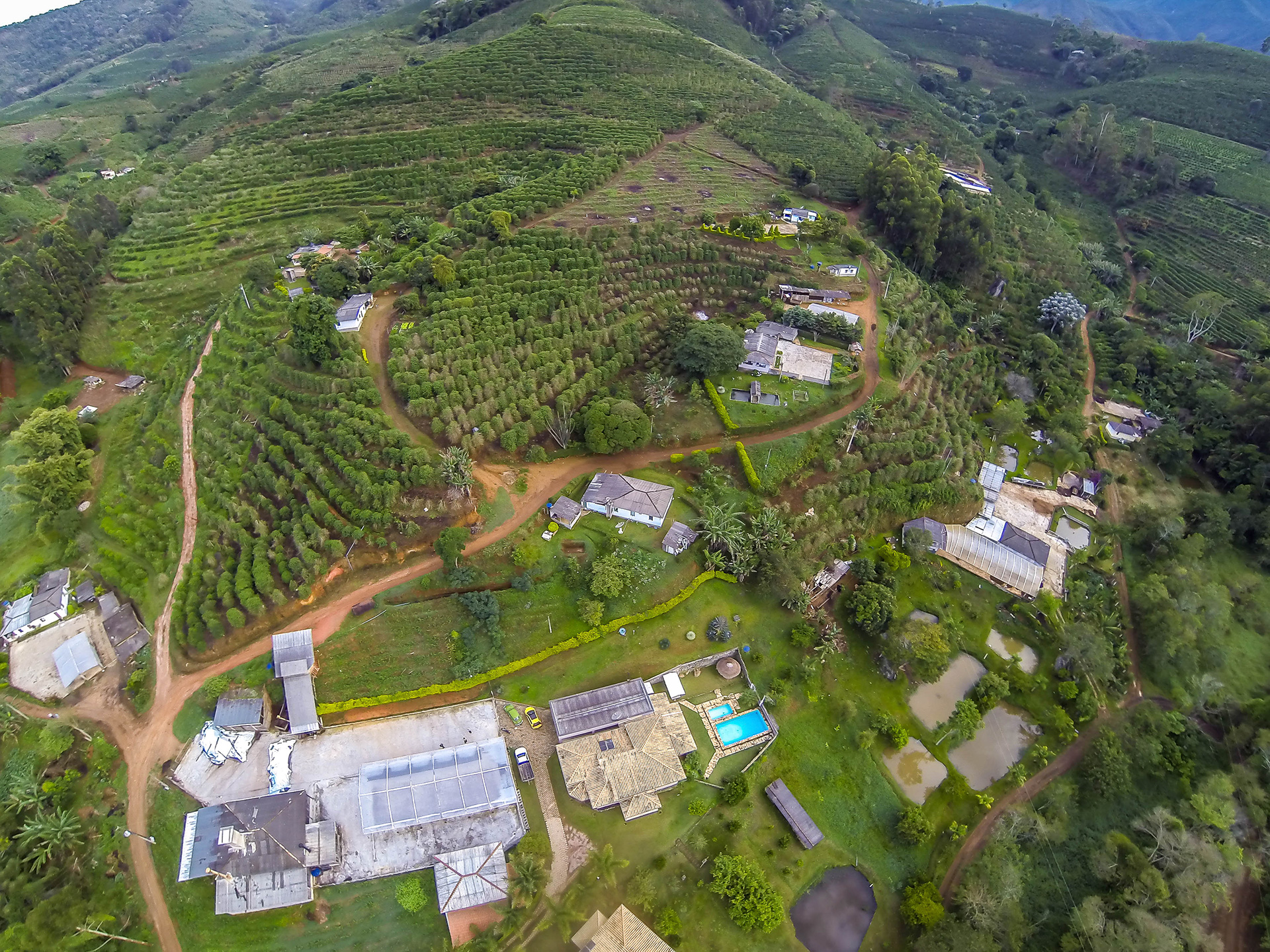 sitio santa rita brazil coffee farm