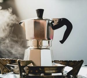 Moka Pot Steam